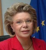 Viviane Reding nommée vice-président de la Commission à la Justice Européenne