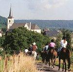 Tour de Luxembourg à cheval du 7 au 12 août 2010