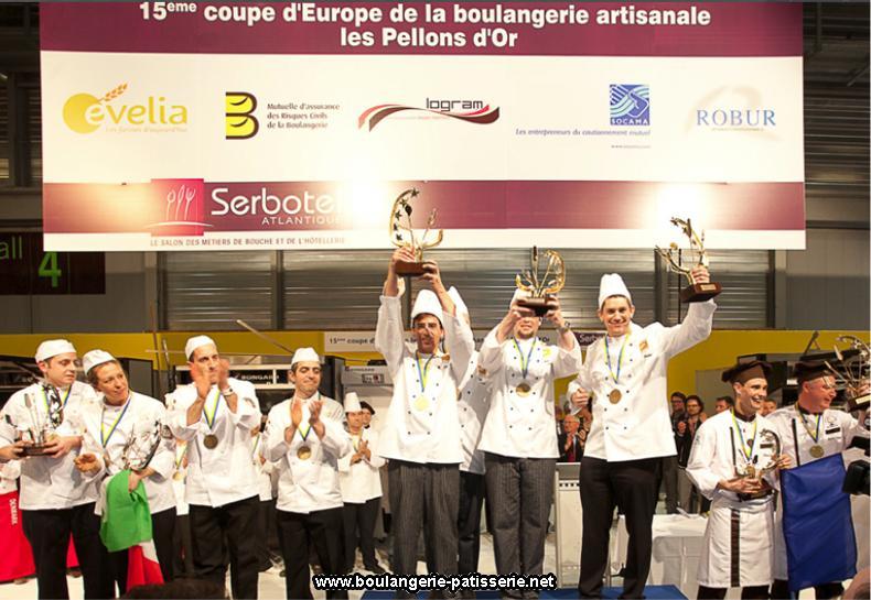 Luxembourg – Vainqueur Coupe d'Europe de Boulangerie 2011