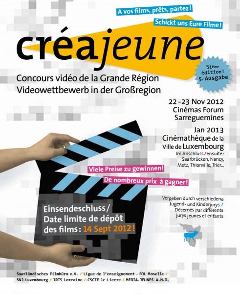 Concours vidéo Créajeune pour le prix QuattroPole, ça tourne !