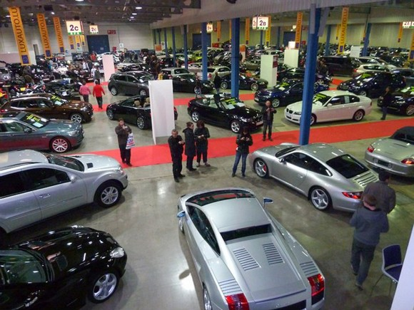 Le Salon de l'Occasion à Luxembourg : plus de 200 véhicules exposés