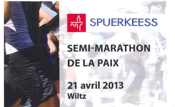 Rendez-vous au pas de course à Wiltz le 21 avril !