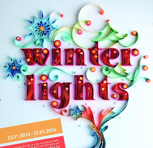 Le Festival Winterlights 2013 illumine Luxembourg-Ville