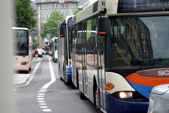 Les bus gratuits ce dimanche 3 janvier à Luxembourg ville