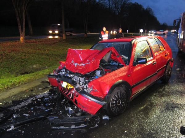 Luxembourg : 2 blessés graves après un accident de voitures