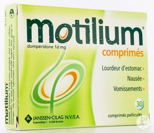 Santé : risque cardiaque et Motilium, mise en garde du gouvernement