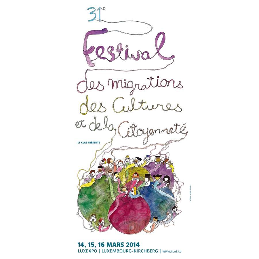 Festival des Migrations à Luxembourg, 31ème édition