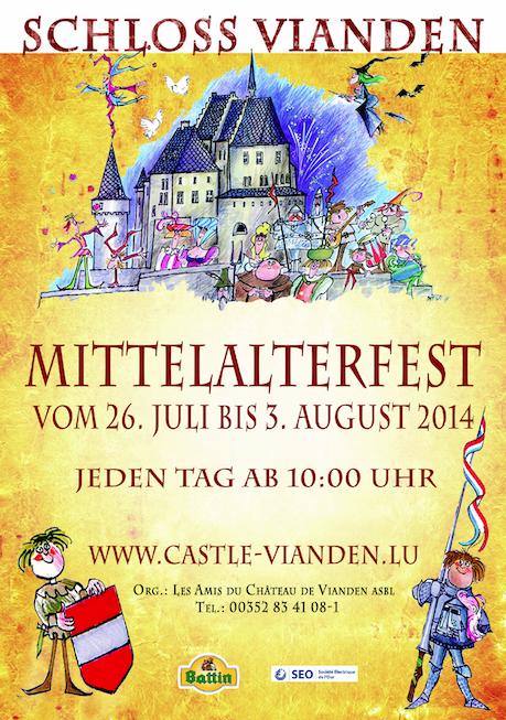 Voyage dans le temps avec la fête médiévale de Vianden
