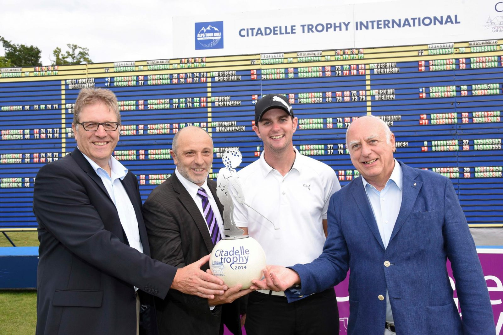 Citadelle Trophy 2014  : Tom Wilde grand gagnant du tournoi