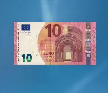 Le nouveau billet de 10€ arrive aujourd'hui