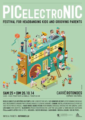 Festival PICelectroNIC à Luxembourg : le son dans tous ses états et pour tous les âges