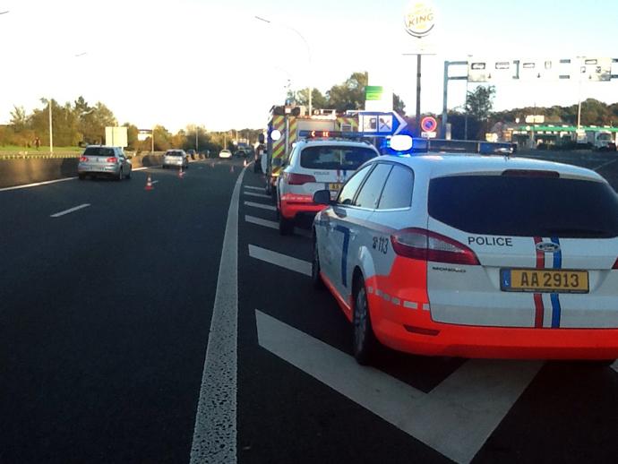 Accident mortel au Luxembourg : un piéton fauché sur l'autoroute