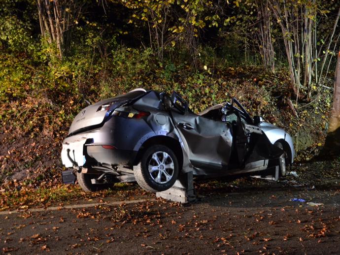 Accident à Bettendorf : un quadragénaire décède en percutant un arbre