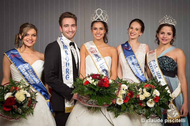 Les nouveaux visages de Miss et Mister Luxembourg 2015