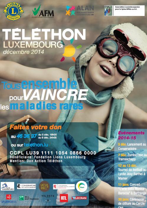 Luxembourg se mobilise au profit du Téléthon