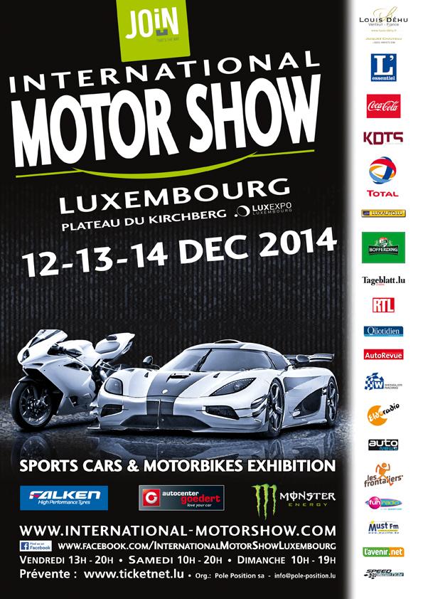 La passion auto-moto à l'honneur à Luxembourg avec l'International Motor Show
