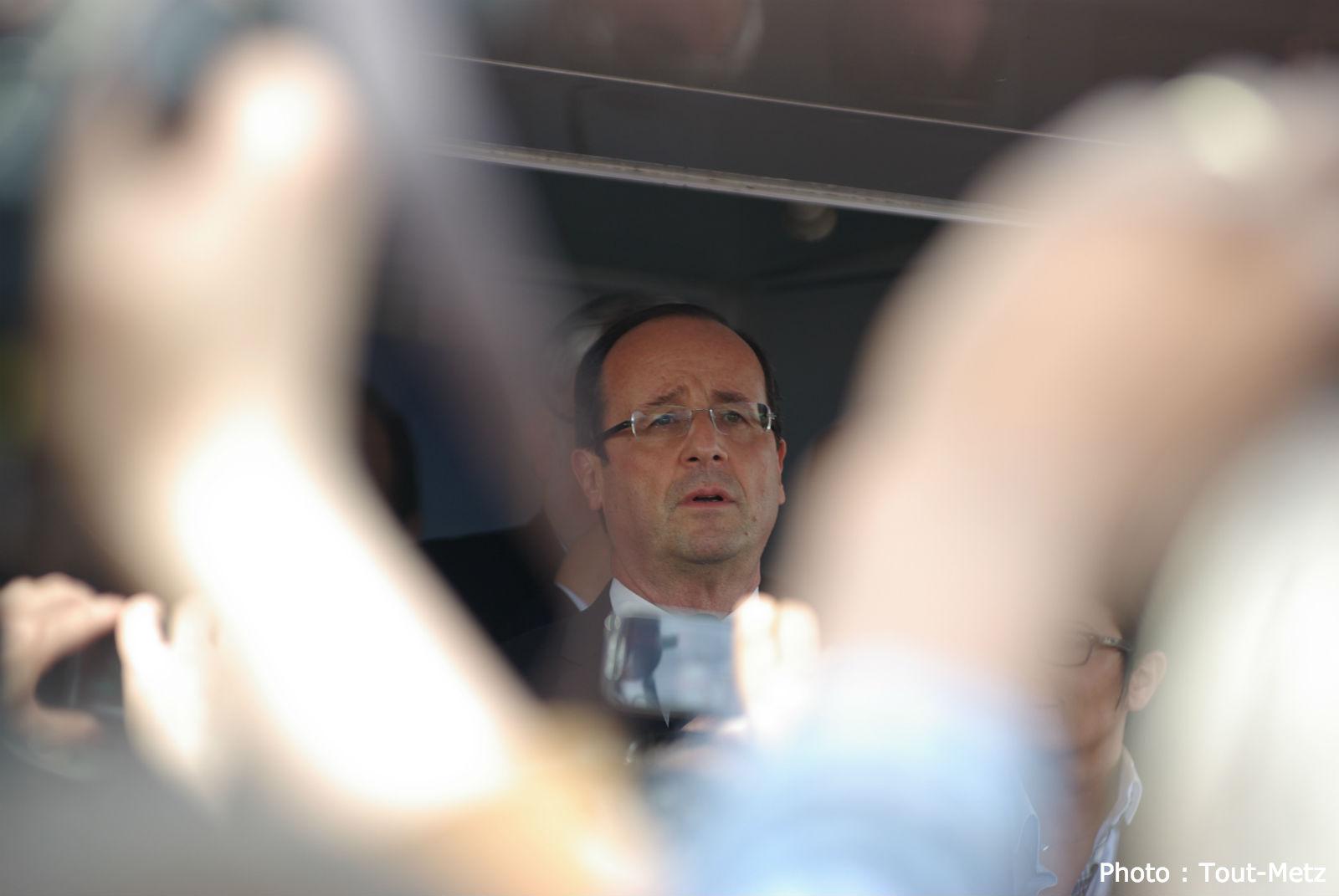 François Hollande au Luxembourg pour rencontrer les frontaliers