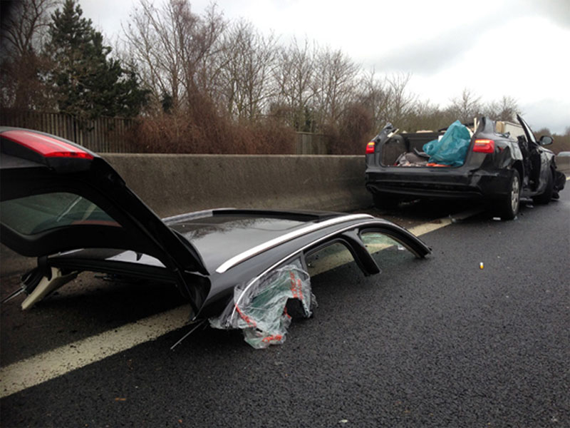 Accidents de la route au Luxembourg : 1 mort et un blessé grave sur l'A1 et l'A3