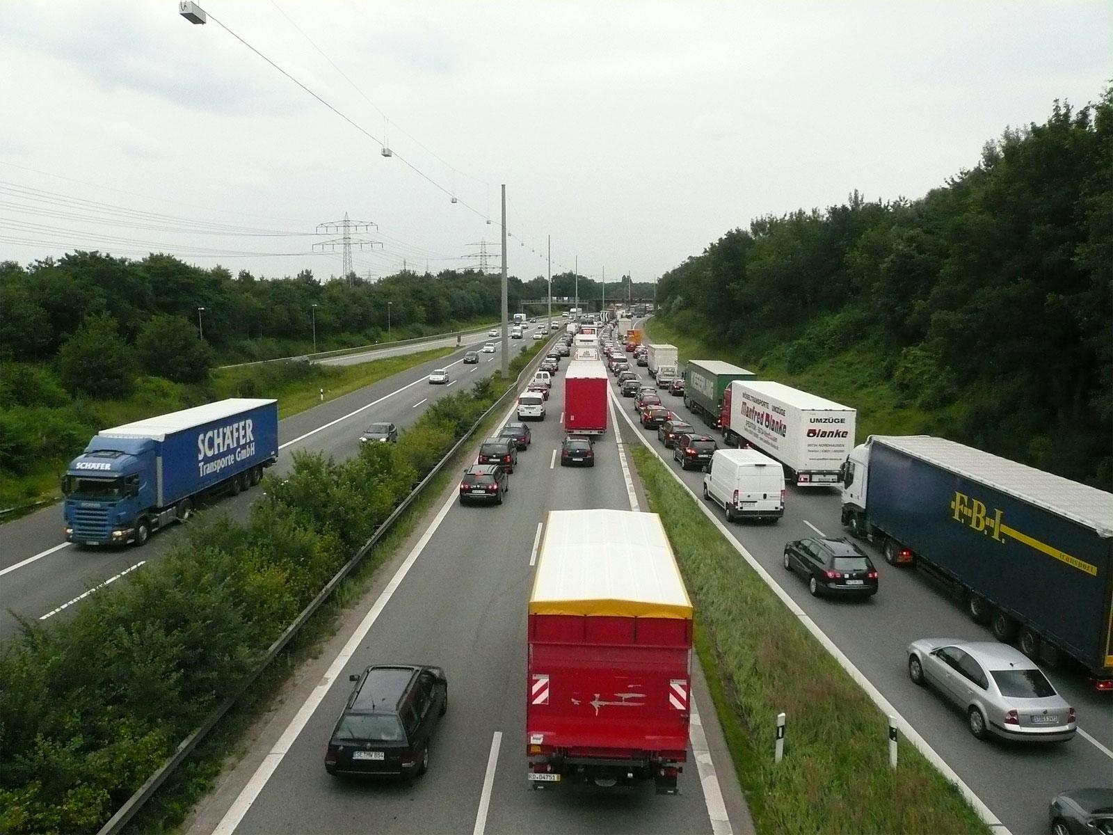 Pollution : vitesse réduite sur les autoroutes du Luxembourg