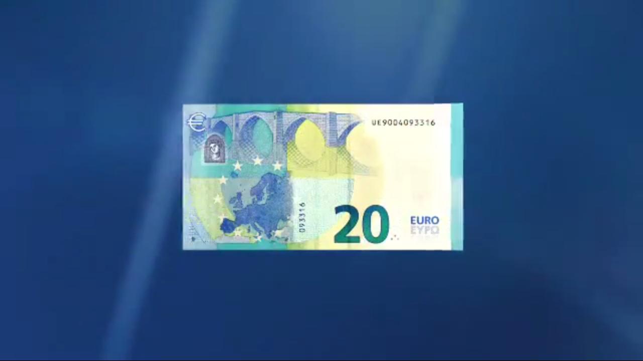 Le nouveau billet de 20€ sera en circulation en novembre 2015
