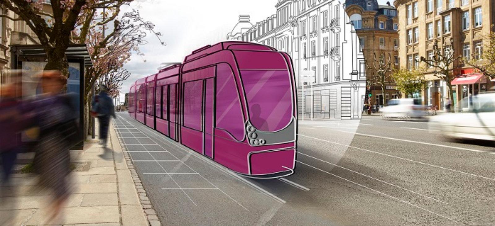 Le constructeur espagnol CAF a été choisi pour construire le Tram de Luxembourg