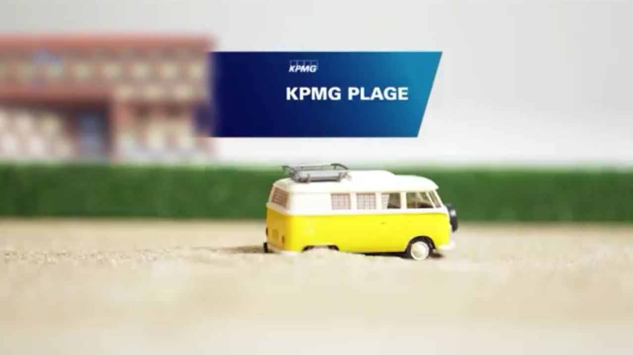 Luxembourg : comme un air de vacances au Kirchberg, qui se transforme en plage