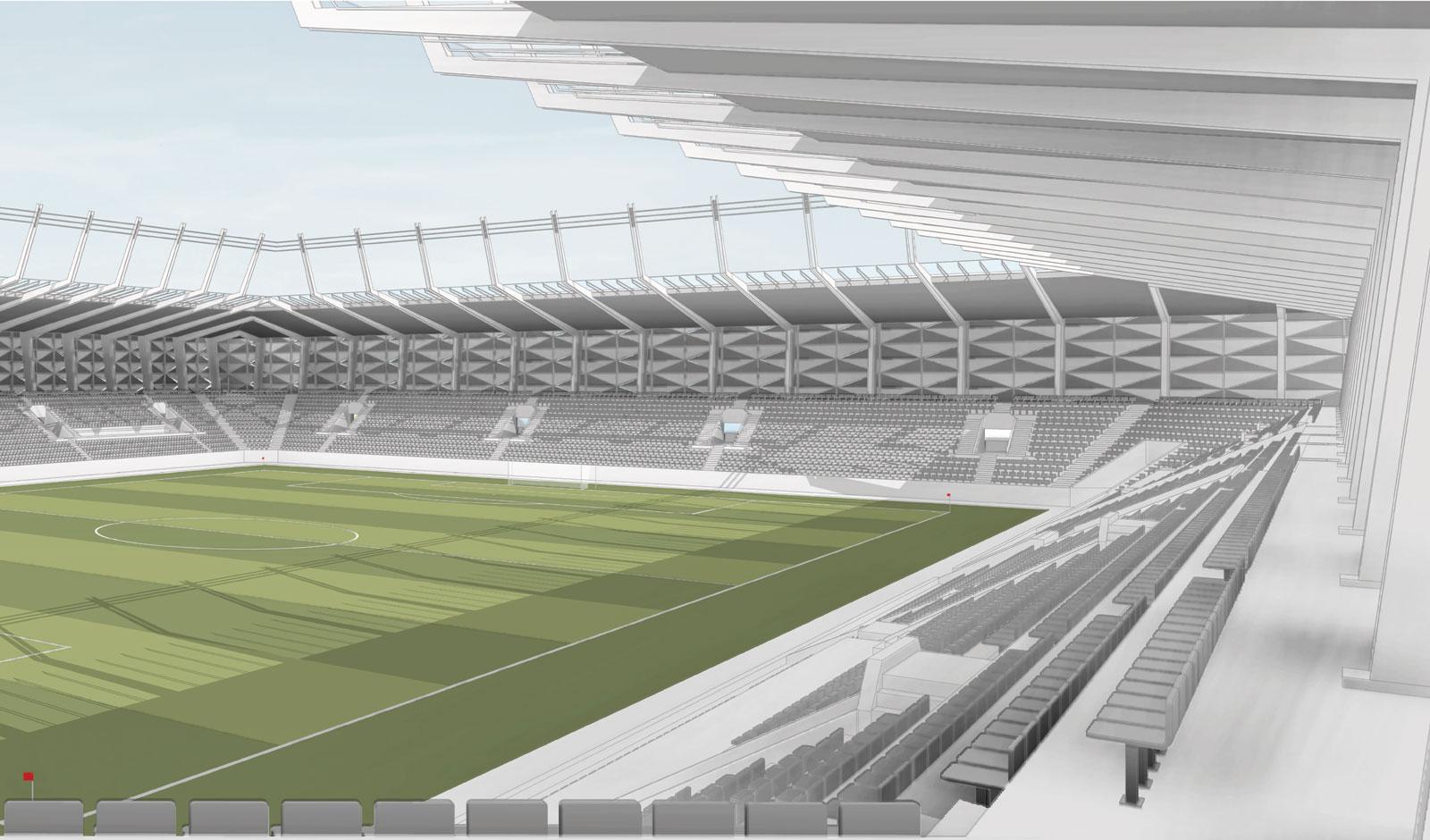 Les 1ères images du futur stade national du Luxembourg