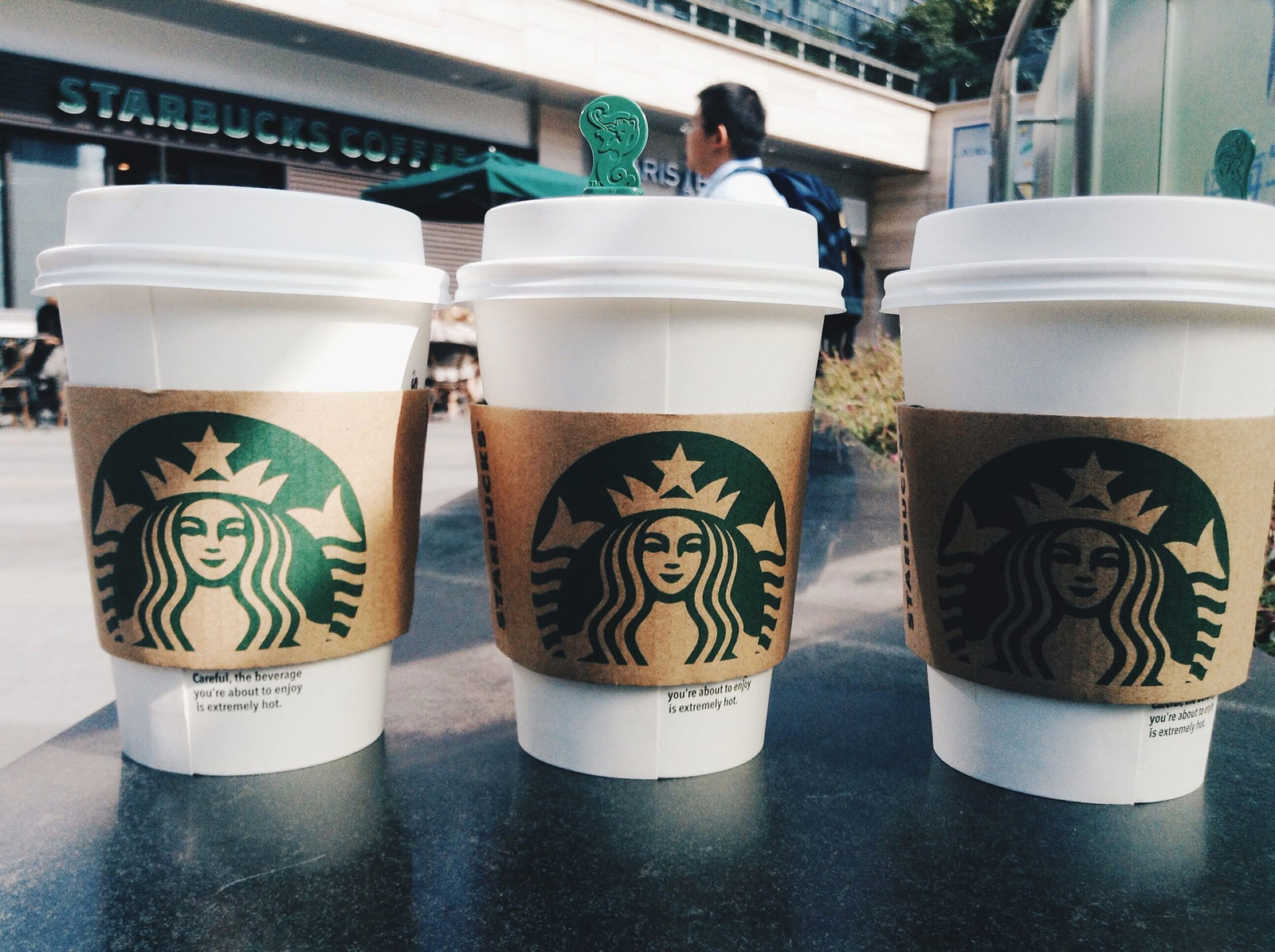 Un Starbucks s'installe au Luxembourg