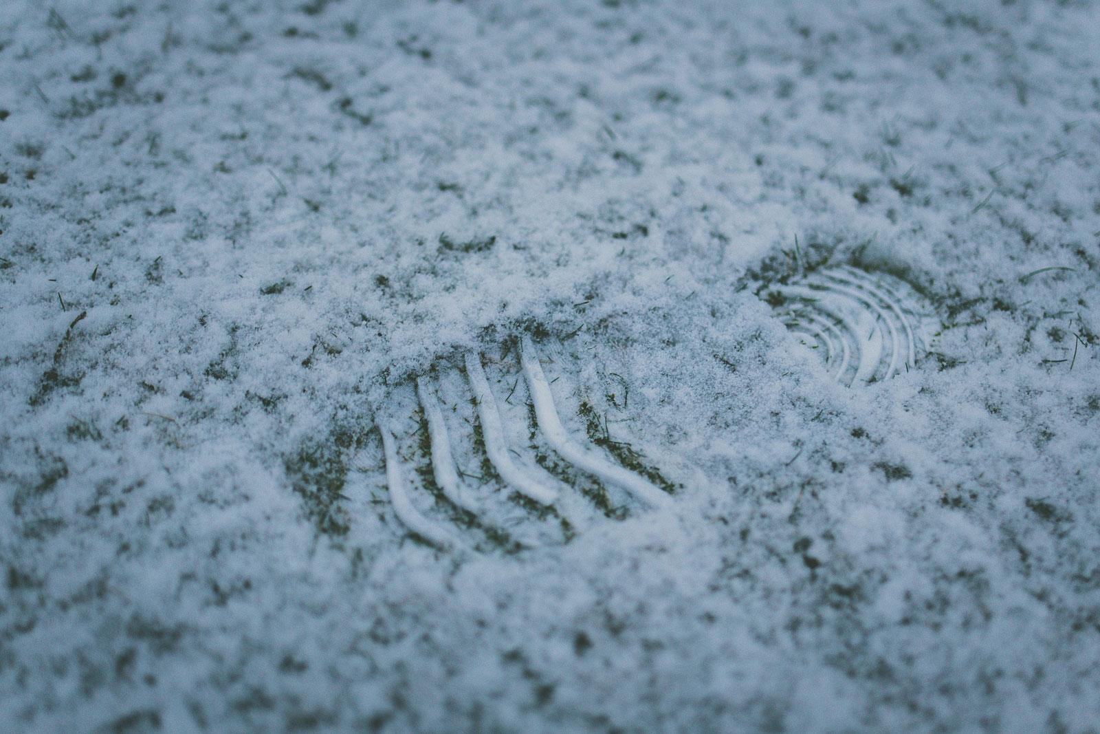Luxembourg : après les rafales de vent et la pluie… la neige