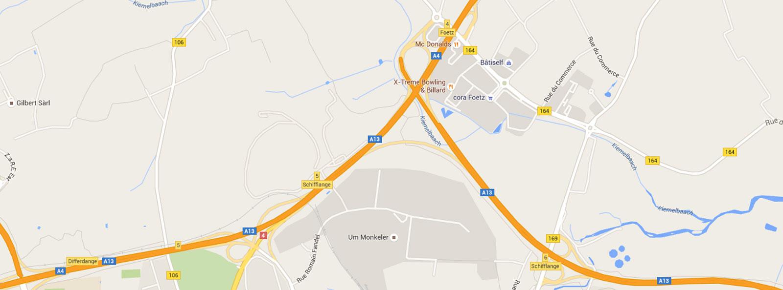 Esch sur Alzette : un piéton percuté sur l'autoroute A4